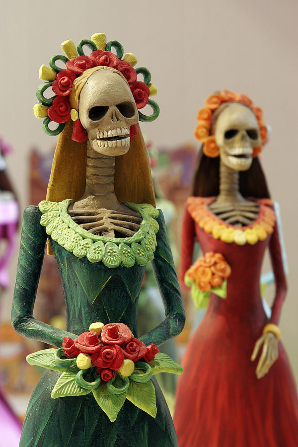 La Catrina – In Mexican folk culture, the Catarina, popularized by José Guadalupe Posada, is the skeleton of a high society woman and one of the most…