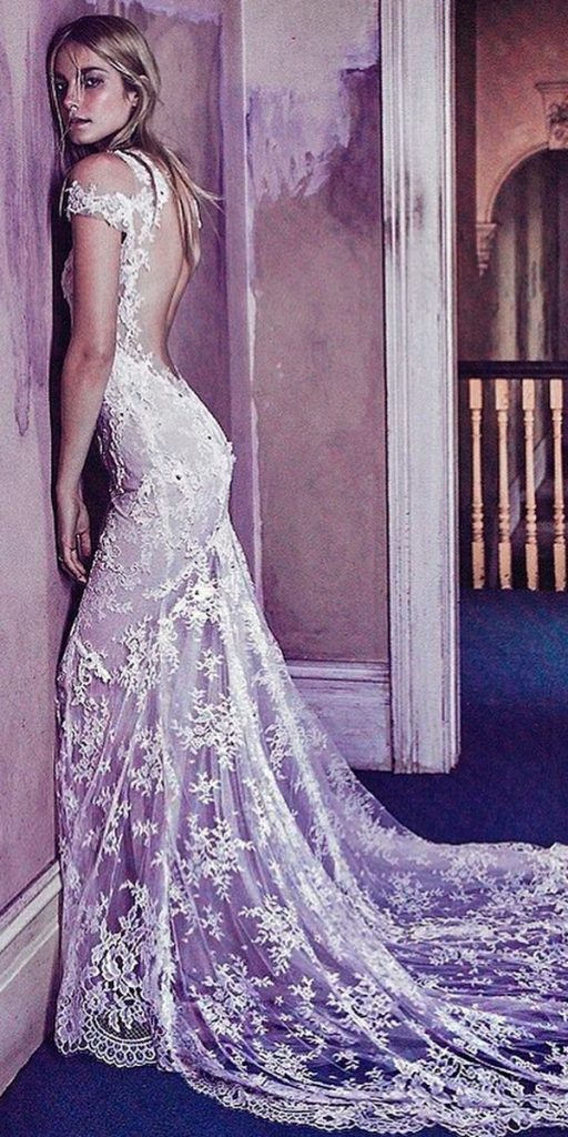 17 purple-wedding-dresses-lace-fit-and-flare-with-short-sleeves-monique-lhuillier-512x1024.jpg