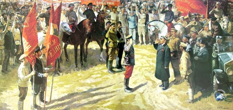 1986  Николай Николаевич Соломин. Весна 1919 года  1986.jpg