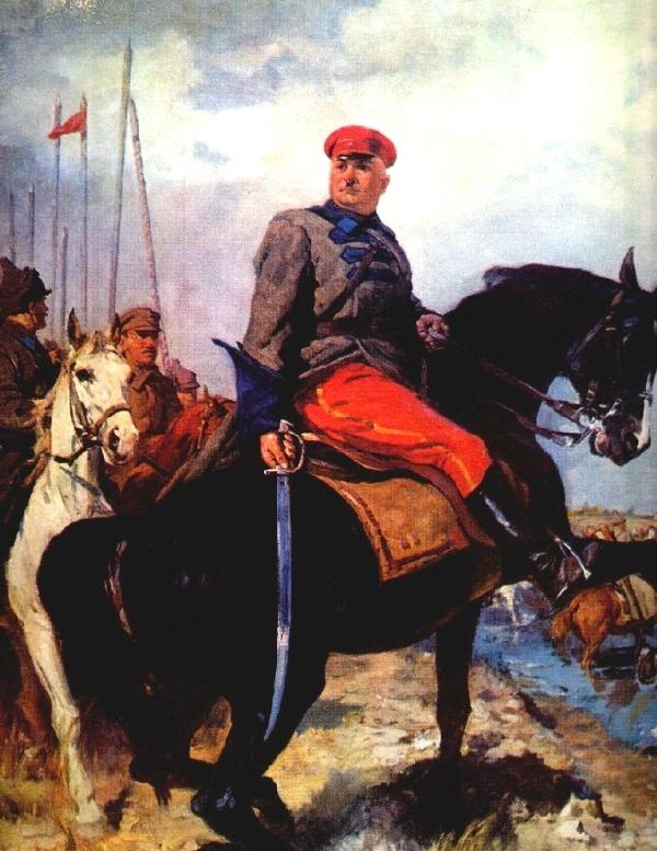 1948 К. Китайка. Портрет героя гражданской войны (Котовский).jpg
