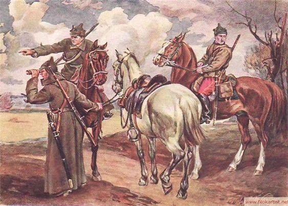 1923  Петр Дмитриевич Покаржевский. Красный дозор 1923.jpg
