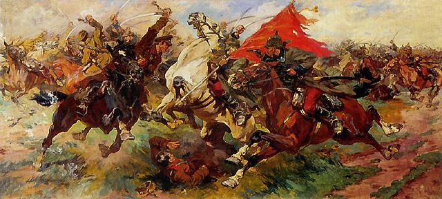 1922 Самокиш Николай Семенович Бой за знамя. Атака. 1922..jpg