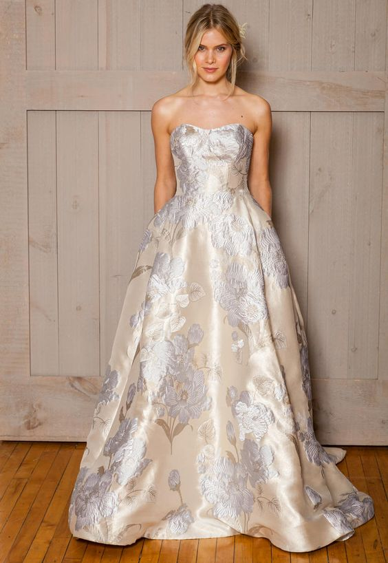 17  Davids-Bridal-Fall-2016-ivory-floral-printed-wedding-dress.jpg