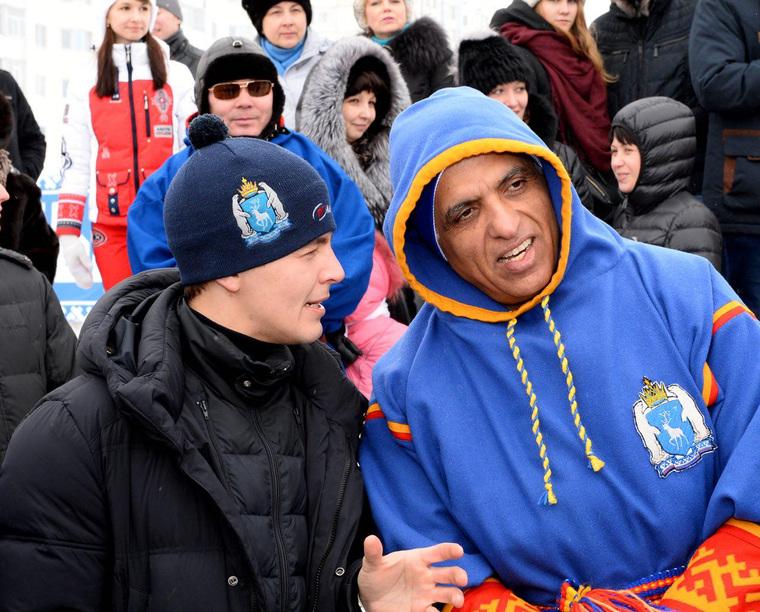 _Новый замгубернатора Дмитрий Артюхов (слева) лично курировал переговоры с арабскими шейхами.jpg