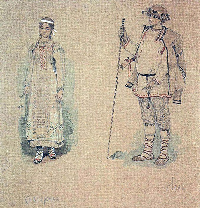 1885 В.М. Васнецов Снегурочка и Лель.jpg