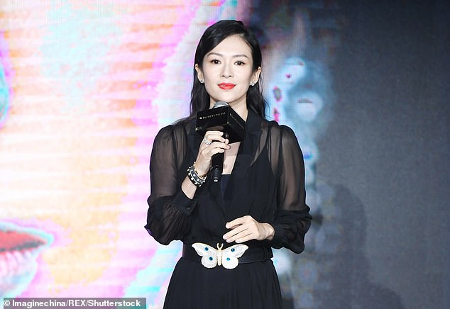 4  Chinese actress Zhang Ziyi (pictured), along with other celebrities, have all cancelled their appearances at the #DGTheGreatShow catwalk presentat…