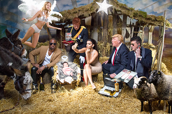 170 Nativity scene courtesy of Lyst, the world's largest online fashion site reflecting the biggest personalities and trends of 2016..png