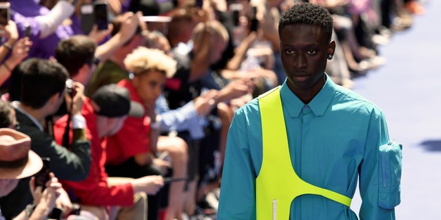 6  The first collection of the American Virgil Abloh at Louis Vuitton was a highlight of the Paris Fashion Week men's spring-summer 2019..jpg