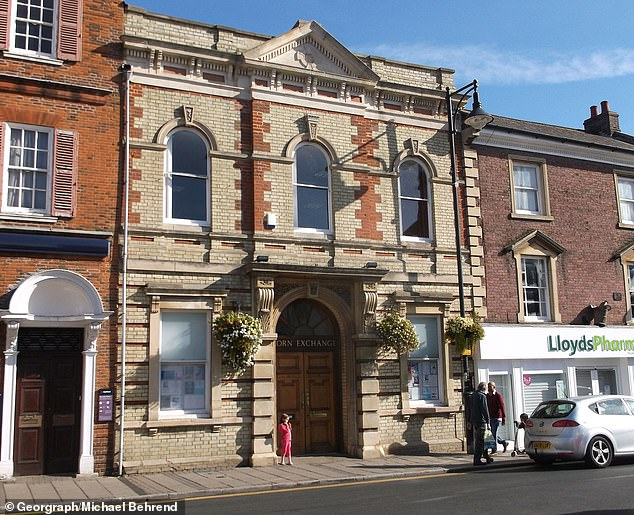 Corn Exchange in St Ives, Cambridgeshire, where a 'Bad Santa' who is said to have torn off his red cap and white beard and yelled at 50-odd children.…