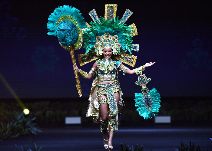 Belize Ispired by Mayan sun god, voted out of three options presented to fans on social media.jpg