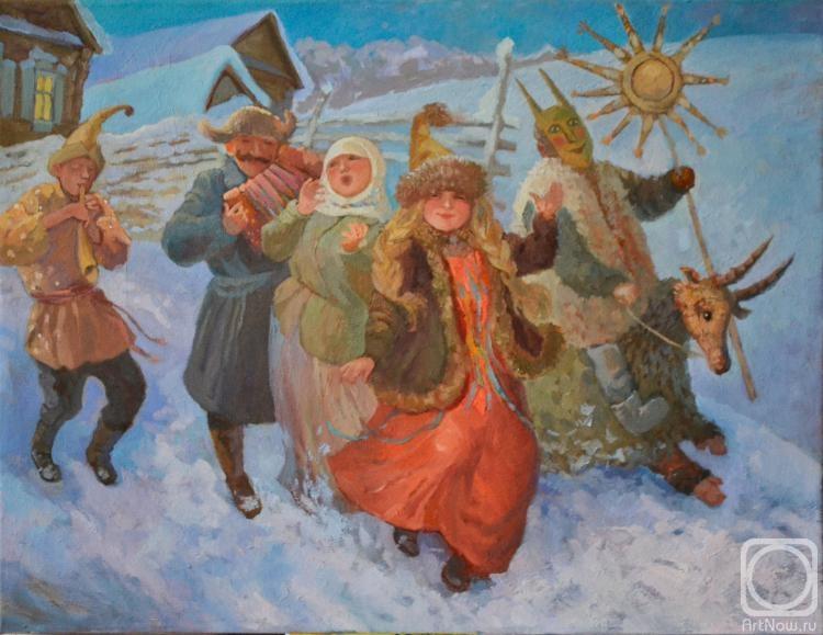 2014  Аликина Елена Ряженые.jpg