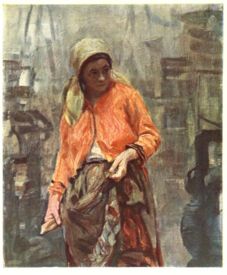 1904  Касаткин Николай Алексеевич Ткачиха. 1904 г. Государственный музей Революции СССР.jpg