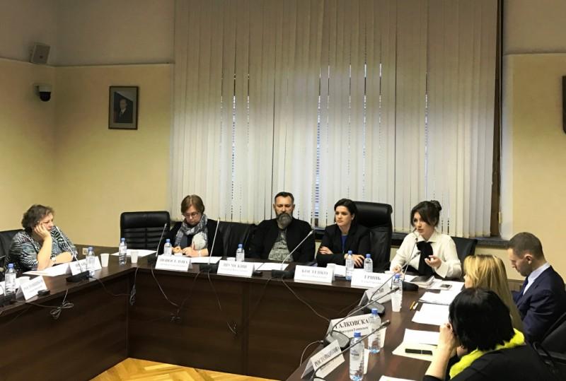 В Госдуме во вторник, 24 октября, прошло обсуждение проблемы усиления правовой защиты интеллектуальной собственности.JPG
