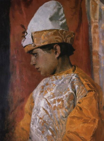 1882 В костюме скомороха 1882 Васнецов Виктор Михайлович.jpg