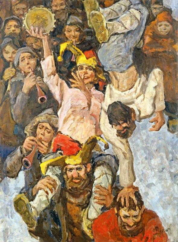 1976 Русов Лев. «Скоморохи»..jpg