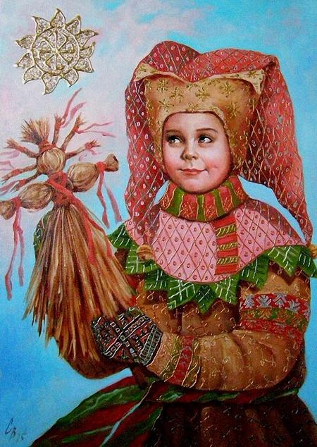 2015 Мищенко-Сапсай Светлана Брониславовна (род. 1970) Скоморох (правая часть диптиха). 2015 г..jpg