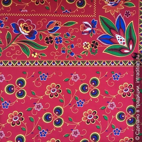 modern Купон на платок барановский красный.jpg