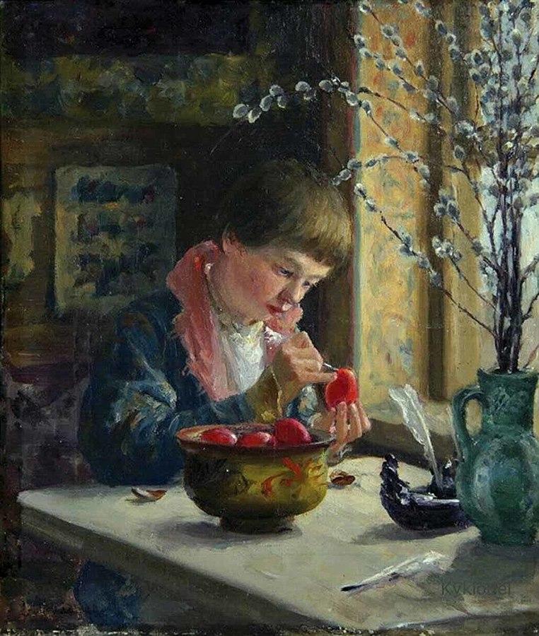 1910 762px-Милорадович,_Приготовление_к_пасхе.jpg