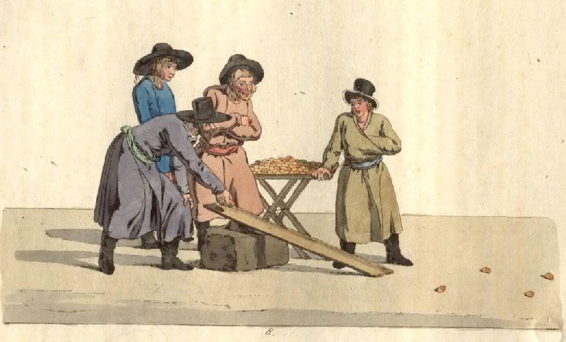 1805 Гейслер Кристиан Готлиб Генрих . Катание яиц.jpg
