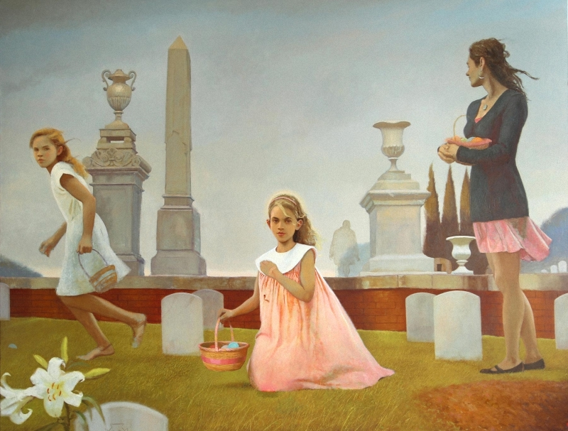 2015  wVIk Bartlett (American, born 1955) Easter. 2015 г. 2rGr4.jpg