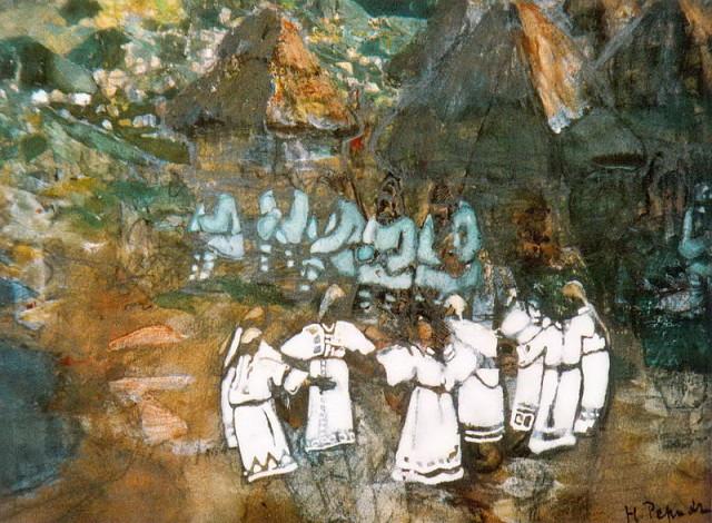 1903 Рерих Н К Хоровод      image.jpg