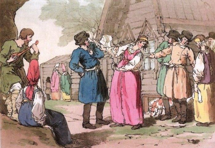 Дж. А. Аткинсон. Русский народный танец Голубец, 18043.JPG