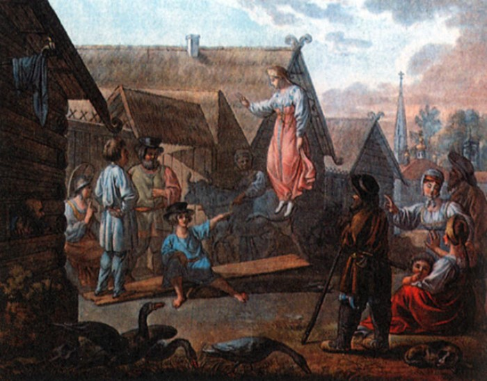 И. Кокере. Игра Скакать на доске Гравюра с рисунка Е. М. Корнеева, 1810-е2.jpg