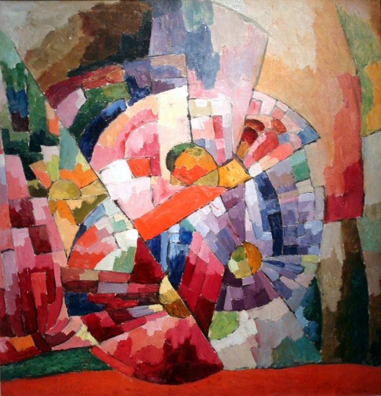 Аристарх Лентулов. Астры. Отчетливее всего влияние орфизма среди российских художников проявилось в работах Аристарха Лентулова x - Copy.jpg