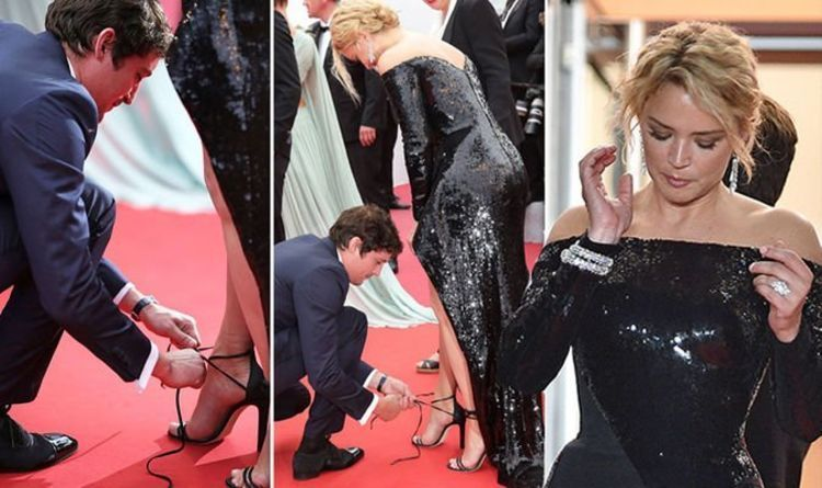 Virginie Efira gets help from partner in majorly awkward wardrobe malfunction  Cannes-2019-Virginie-Efira-gets-help-from-partner-in-majorly.jpg