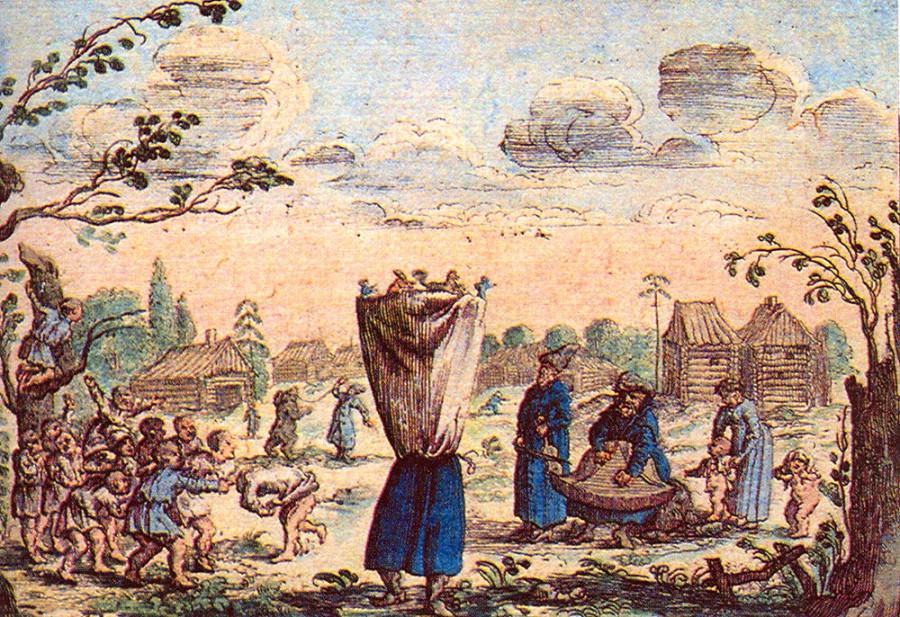 1643   А. Олеарий. Кукольник. 1643 .jpg