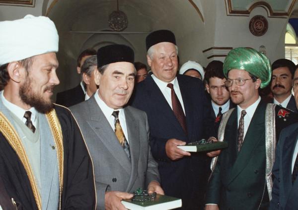 4   Одним из пунктов назначения президентского визита стала мечеть Марджани.jpg