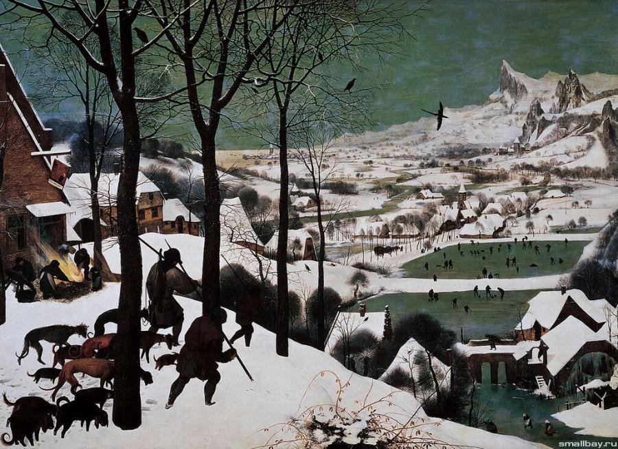 4 Охотники на снегу 1565.jpg