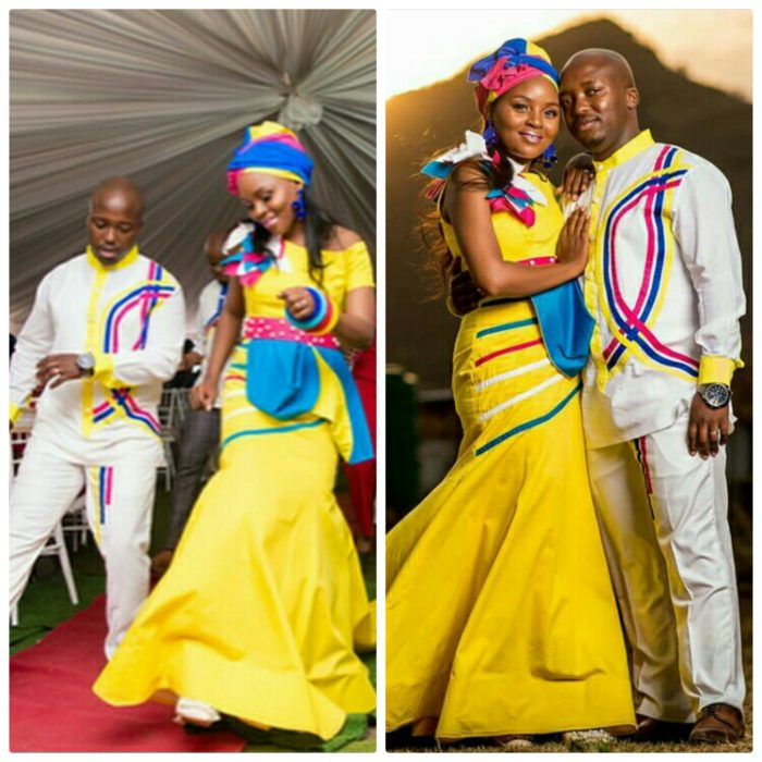 3 Couple In Sepedi Inspired Traditional Wedding Attire  700.jpg
