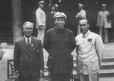 _4 Мао Цзэдун с представителями «хуацяо» в 1949 году .jpg