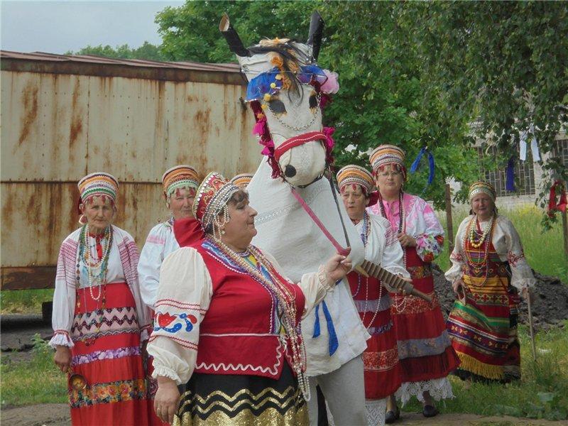 Horse _В Железногорском районе в селе Волково отметили Троицу в духе старины.jpg