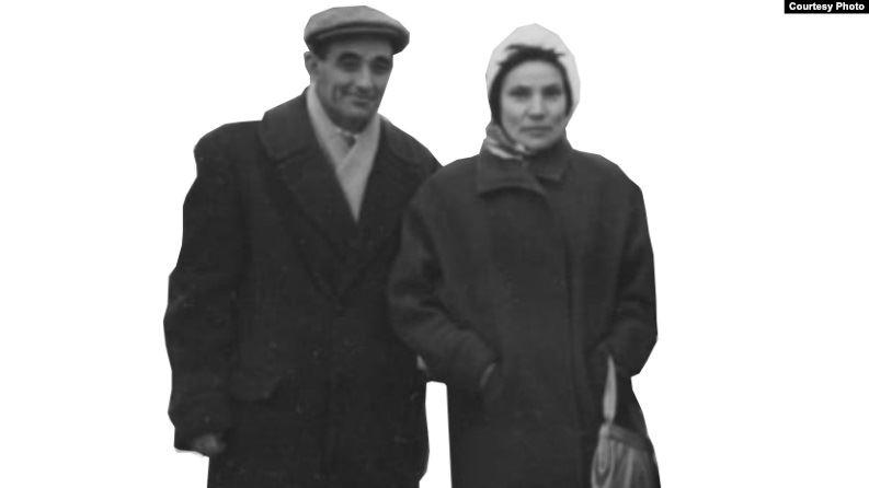1 Анна Андреева с мужем. 1958 г..jpg