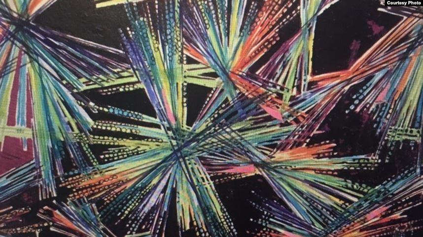 6  Лучизм. Эскиз. Фрагмент. 1957 г..jpg