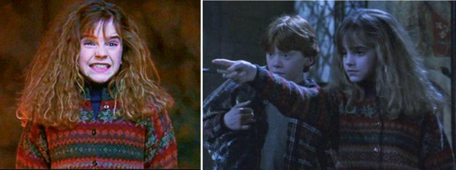_2001 Гарри Поттер и философский камень Эмма Уотсон в роли Гермионы Грейнджер Руперт Гринт в роли Рона Уизли.PNG