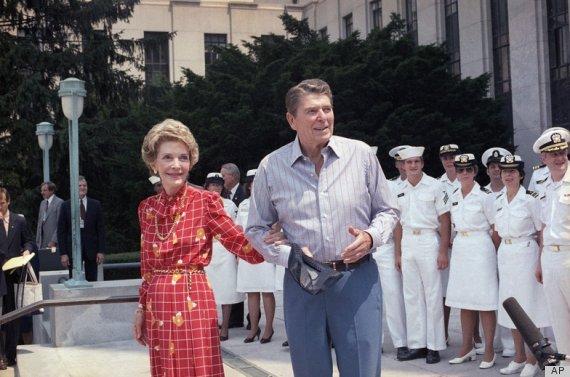 С чего начинается Родина или как испохабить День Независимости США. 4 Reagan 1985.jpg