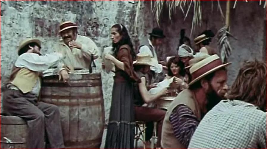 Шляпа канотье в советском кинематографе 1978 Koroli i kapusta.PNG