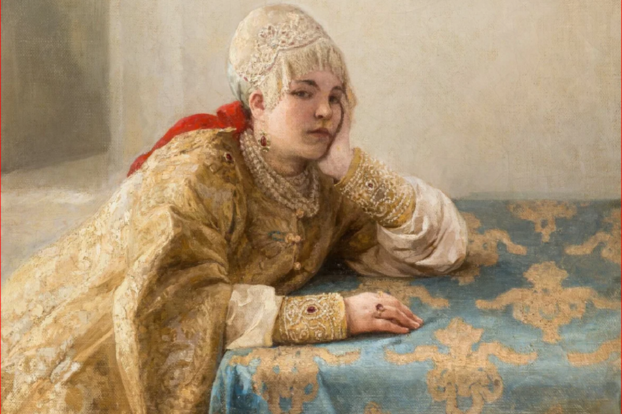 _900 x 600 Боярыня 1904. К В Лебедев.png