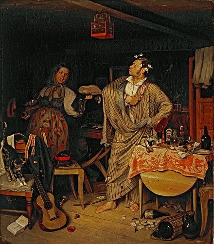 6  П. А. Федотов. Свежий кавалер. 1846.jpg