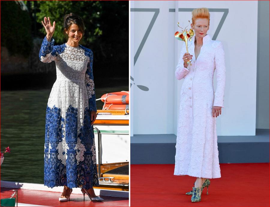8 Barbara Ronchi in Valentino left Tilda Swinton in Chanel right.PNG