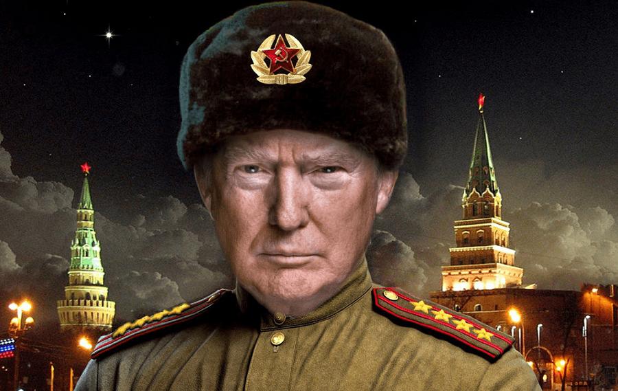 Eсли вы не можете их победить - присоединяйтесь к ним (c), или за что Псаки Trump.Soviet.png