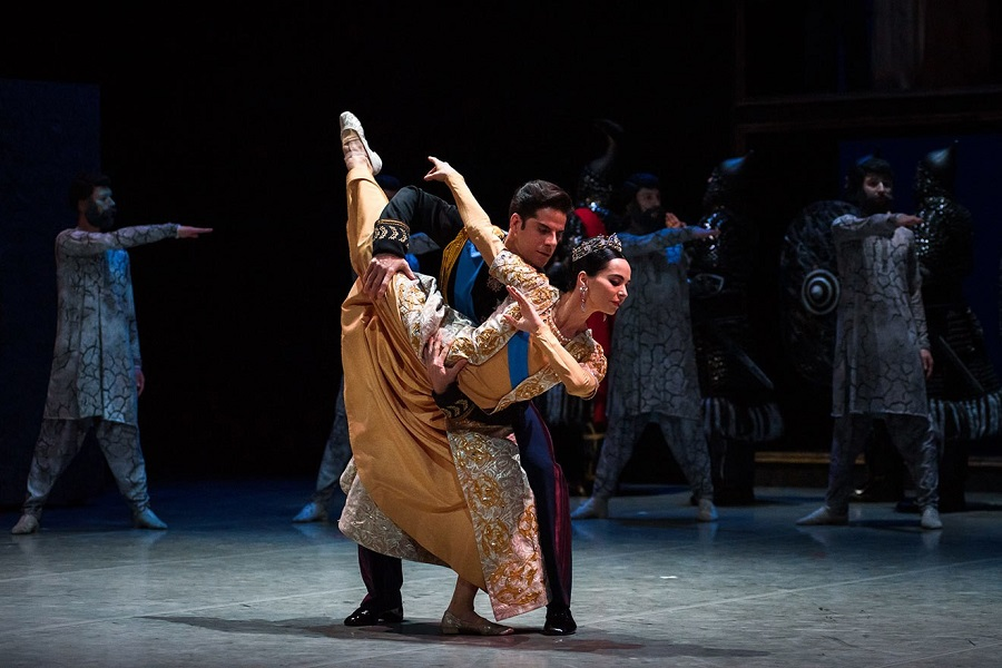 10 Диана Вишнёва и  Марсело Гомес в балете «Шахерезада».jpg