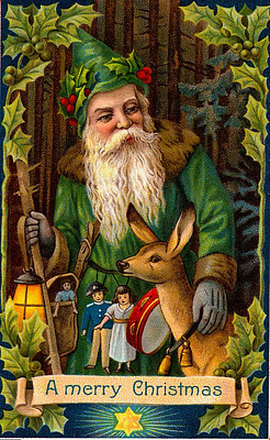 10 A Victorian Era green Father Christmas..jpg