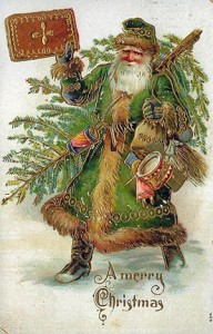 10 A rather splendid Victotian era Green Father Christmas.jpg