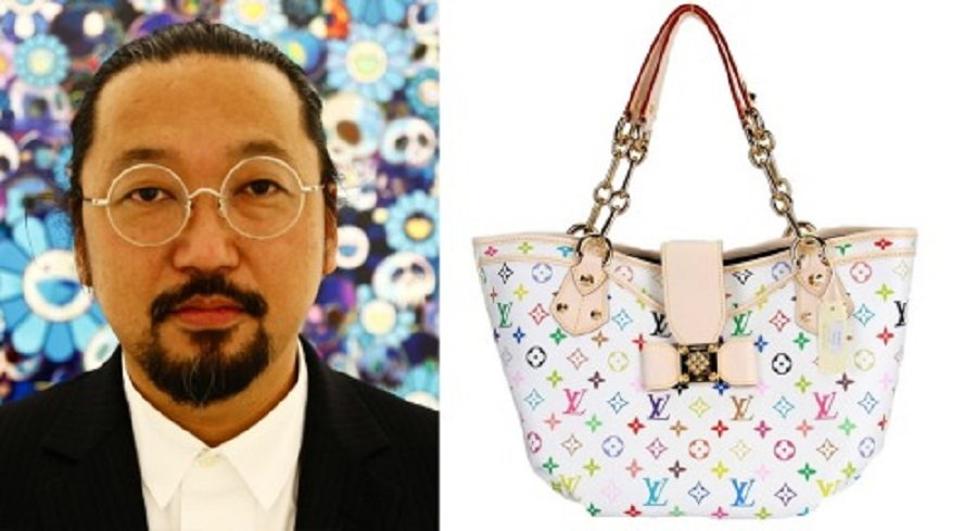 2  In 2002, Japanese artist Takashi Murakami collaborated with Louis Vuitton to re-envision their signature handbags.jpg