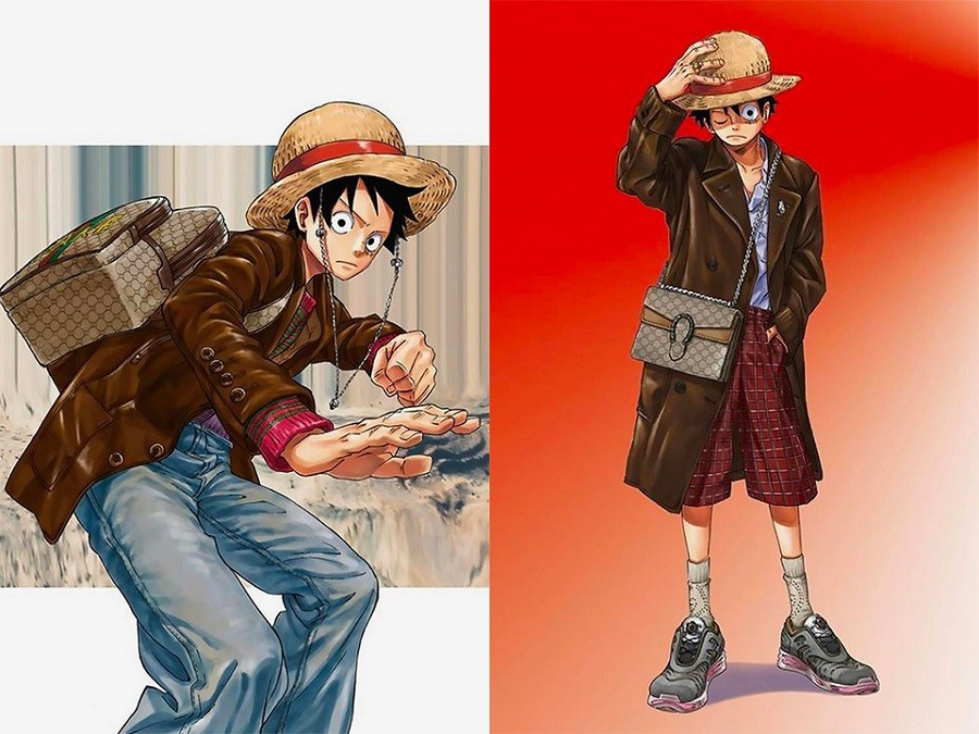 "5 ""One Piece"" creator Eiichiro Oda dressed his characters in Gucci for the cover of ELLEMEN China.jpg"