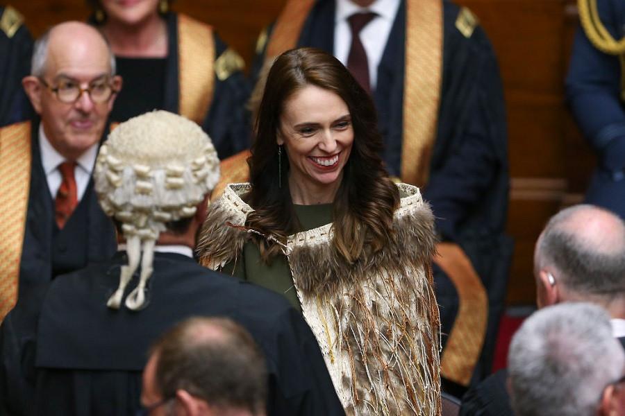 Как Новая Зеландия ищет свою идентичность _6 PRIME MINISTER JACINDA ARDERN DURING THE OPENING OF NEW ZEALAND'S 53RD PARLIAMENT ON NOVEMBER 26, 2020 IN WELLINGTON.jpg